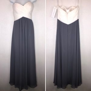Bill Levkoff Strapless Dress Sweetheart Size 10
